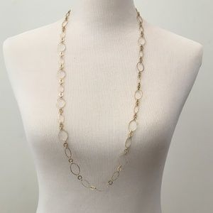 Jewelry - Gold Tone Long Necklace